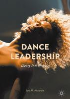 Dance Leadership PDF