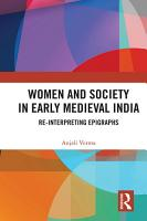 Women and Society in Early Medieval India PDF