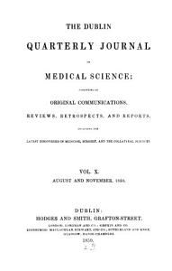 Dublin quarterly journal of medical science PDF