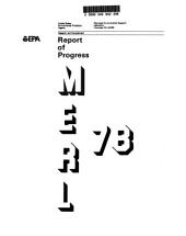 Report of progress: Volume 978
