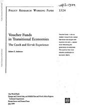 Voucher Funds in Transitional Economies