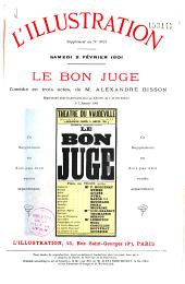 Le bon juge: comédie en trois actes