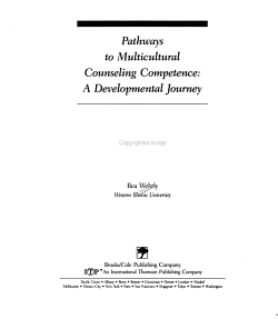 Pathways to Multicultural Counseling Competence PDF