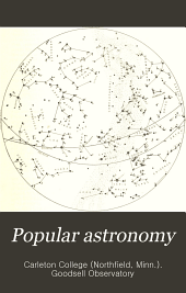 Popular Astronomy: Volume 6