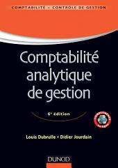 Comptabilité analytique de gestion - 6ème édition