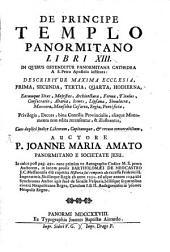 De principe templo Panormitano