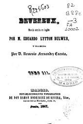 Devereux: novela escrita en inglés, Volúmenes 3-4