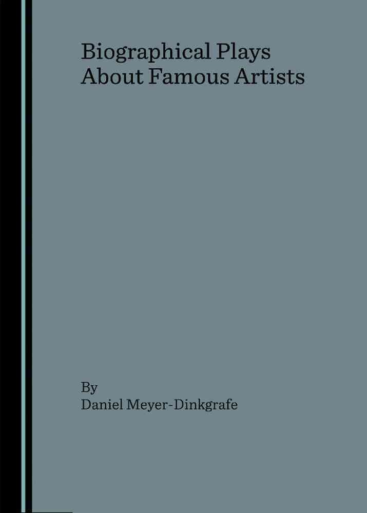 Biographical Plays about Famous Artists