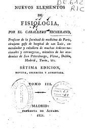 Nuevos elementos de fisiología: Volumen 3