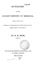 Outlines of the Ancient History of Medicine PDF