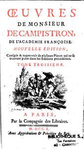 Oeuvres de M. de Campistron,...