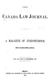 The Canada Law Journal: A Magazine of Jurisprudence, Volume 3