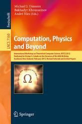 Computation  Physics and Beyond PDF