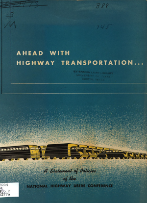 Ahead with Highway Transportation