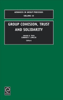 Group Cohesion  Trust and Solidarity PDF