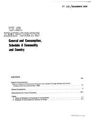 U S  Imports  General and Consumption PDF