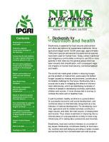 News Letter for the Americas PDF