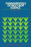 Fundamentals of Rice Crop Science PDF