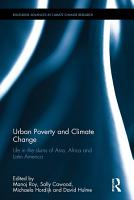 Urban Poverty and Climate Change PDF