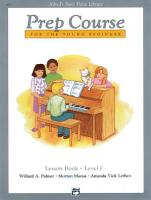 Alfred s Basic Piano Prep Course  Lesson Book F PDF
