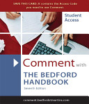 Comment With The Bedford Handbook