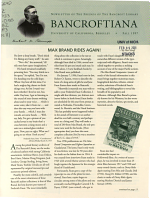 Bancroftiana PDF