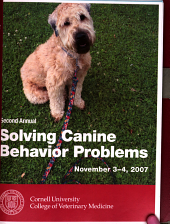 Second Annual Solving Canine Behavior Problems
