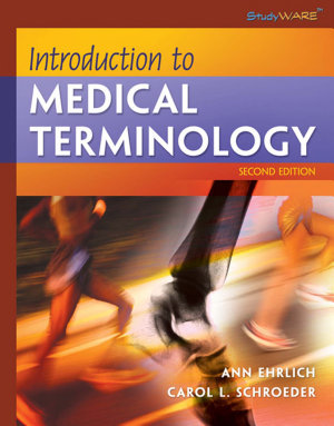 Introduction to Medical Terminology  Book Only