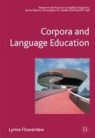 Corpora and Language Education PDF