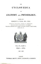 The Cyclopaedia of Anatomy and Physiology: Volume 1; Volume 4