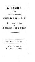 Der Kolibri PDF