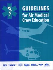 Guidelines for Air Medical Crew Education