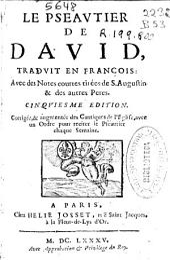 Le Pseautier de David