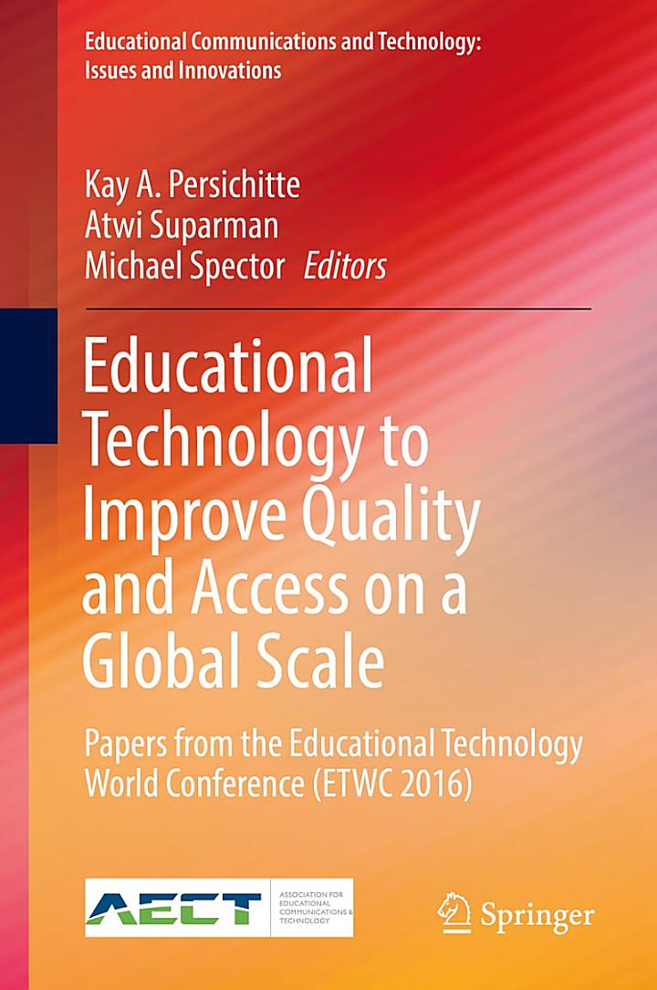 Educational Technology to Improve Quality and Access on a Global Scale