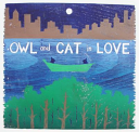 Owl and Cat in Love