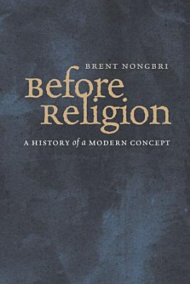 Before Religion