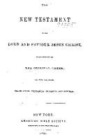 Das Neue Testament Unsers Herrn und Heilandes Jesu Christi PDF