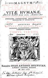 Tomus Tertius, Continens Literas E, F, G: 3