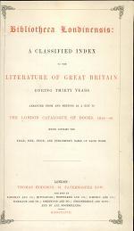 Bibliotheca Londinensis