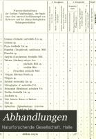 Abhandlungen der Naturforschenden Gesellschaft zu Halle PDF