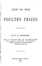 How to Win Poultry Prizes ...