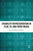 Disability Representation in Film  TV  and Print Media PDF