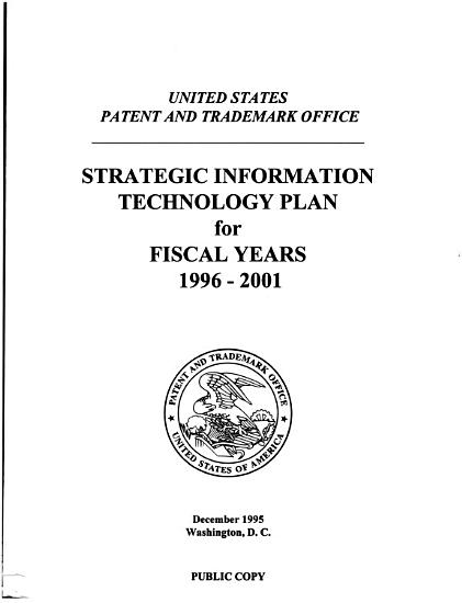 Strategic Information Technology Plan for Fiscal Years     PDF