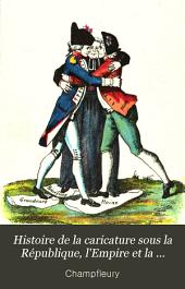 Histoire de la caricature: sous la République, l'Empire et la Restauration
