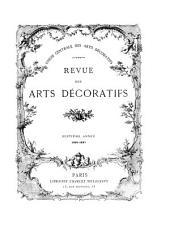 Revue des arts décoratifs: Volume7