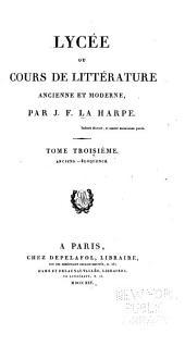 Éloquence [suite] Histoire, philosophie et littérature mêlée