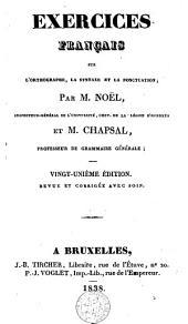 Exercices français sur l'orthographe la syntaxe et la ponctuation
