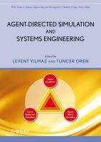 Agent Directed Simulation and Systems Engineering PDF
