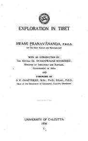 Exploration in Tibet PDF
