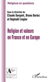 Religion et valeurs en France et en Europe